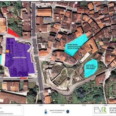 Mapa feira e actividais