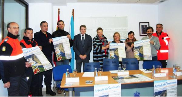 As agrupacións ourensás de Protección Civil reuniranse en Castro Caldelas e Parada de Sil