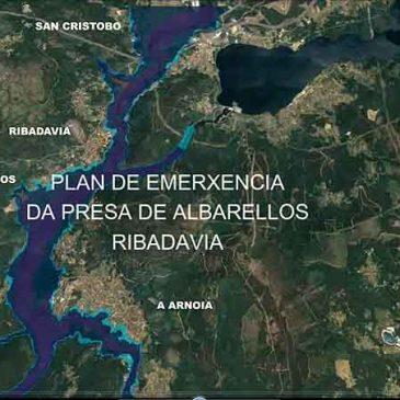 Proba vídeo Plan de Emerxencia Presa de Albarellos (PAM Ribadavia)